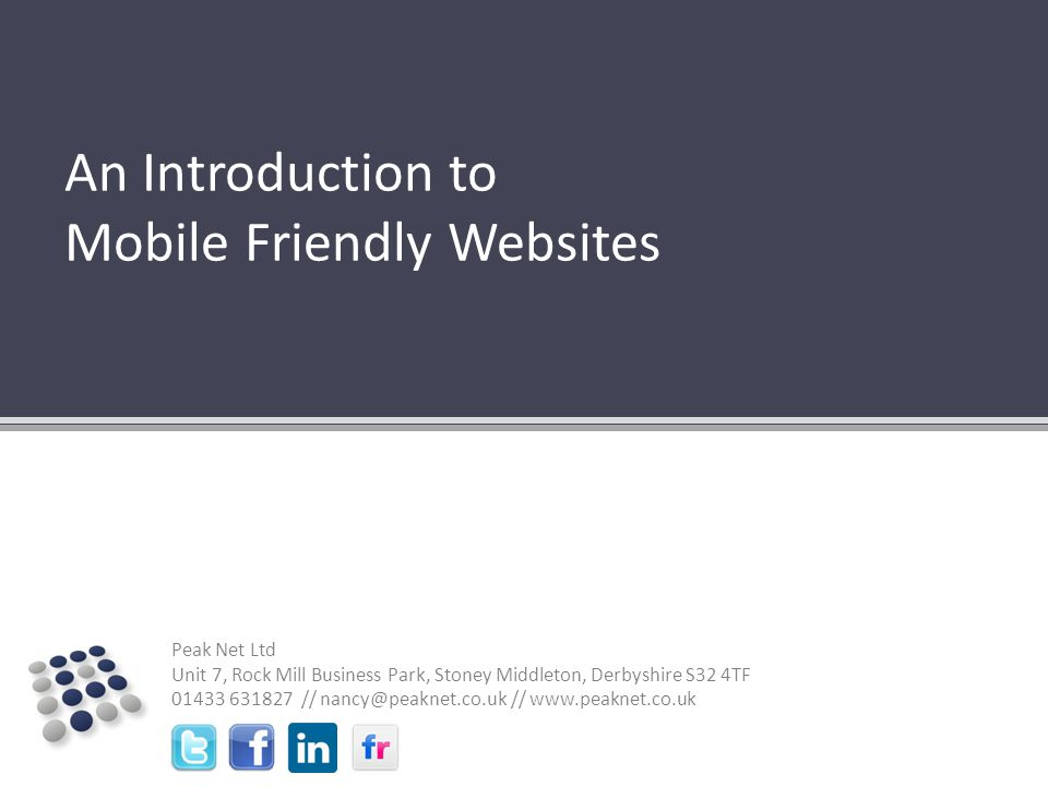 ? Why should I care about having a mobile friendly website?