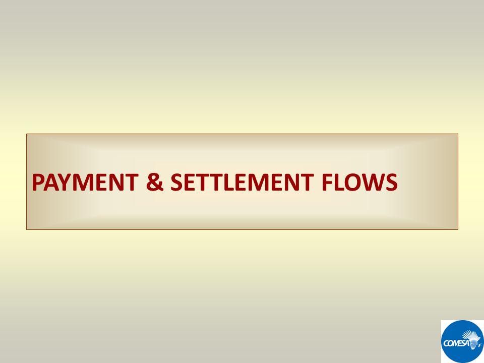 PAYMENT & SETTLEMENT FLOWS