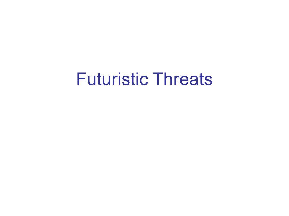 Futuristic Threats