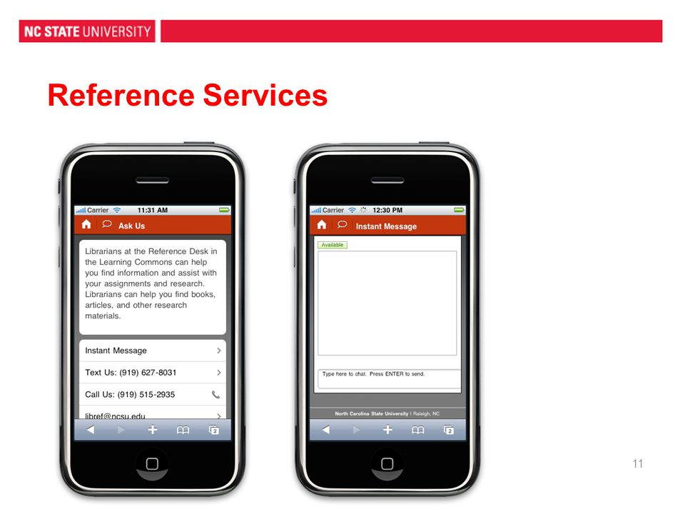Reference Services 11
