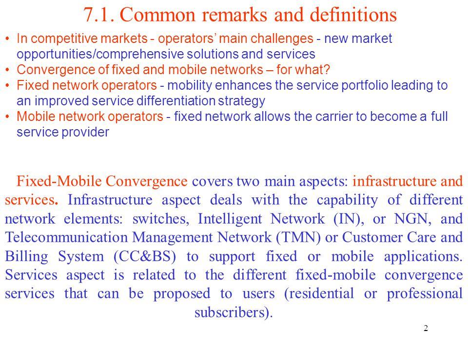 13 7.3. FMC service architecture