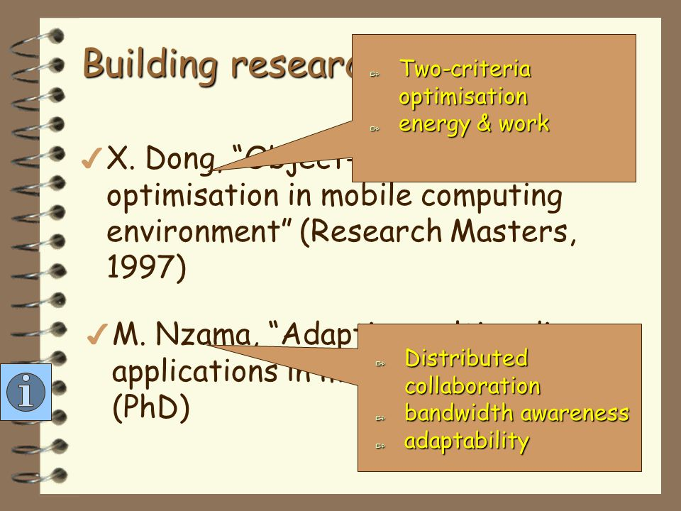 Building research group… more 4 S.