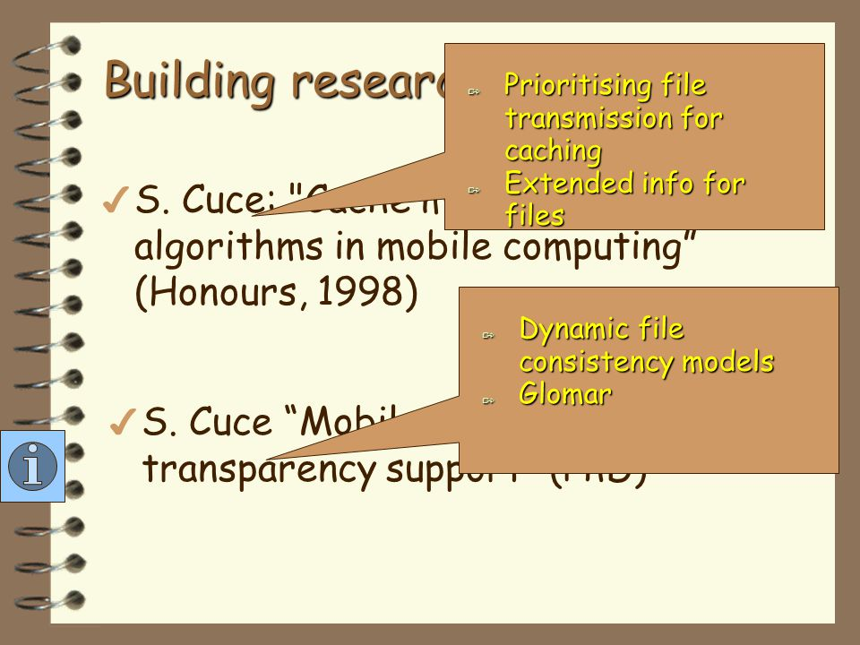 Building research group… more 4 W.