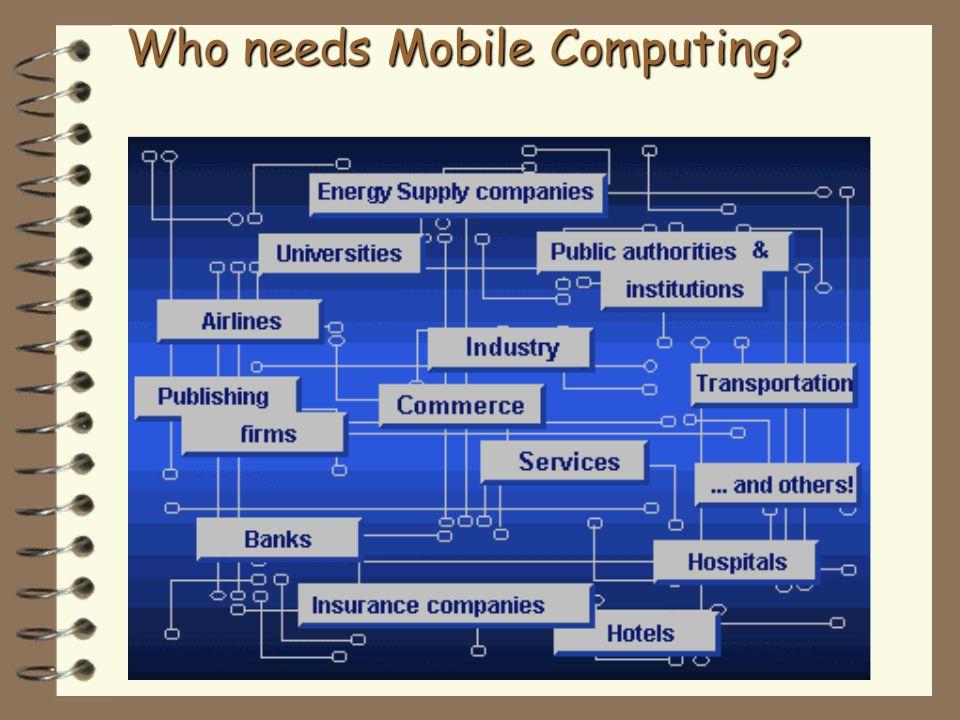 Who needs Mobile Computing?