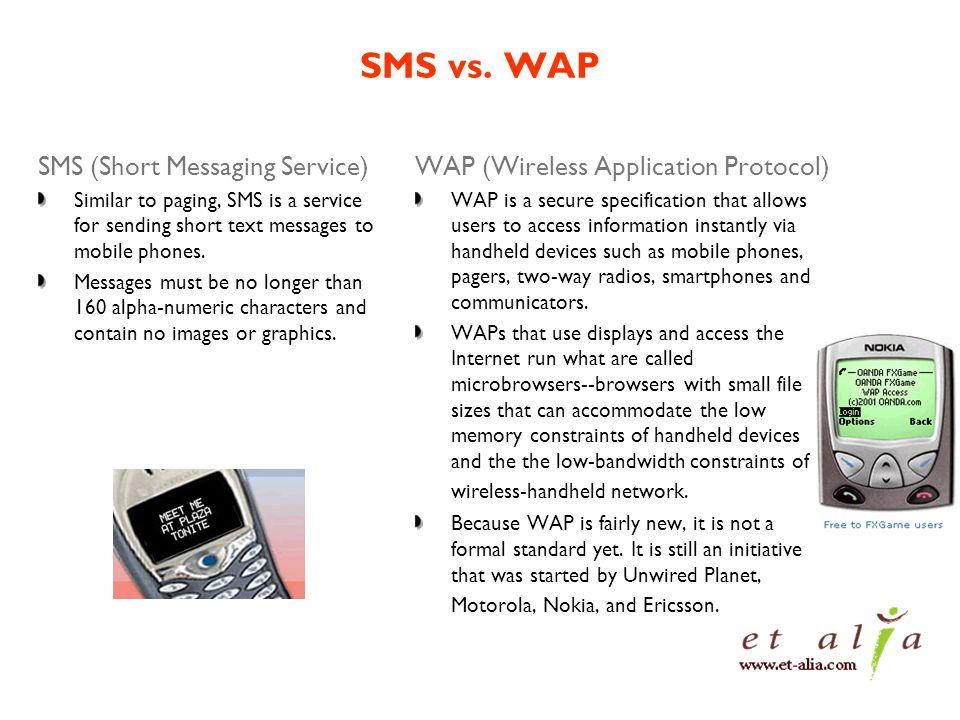 SMS vs.
