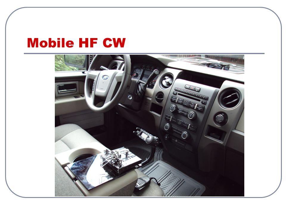 Mobile HF CW