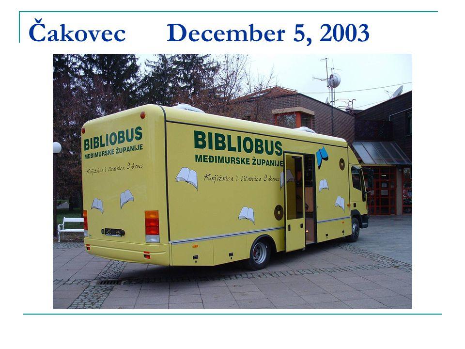 Čakovec December 5, 2003
