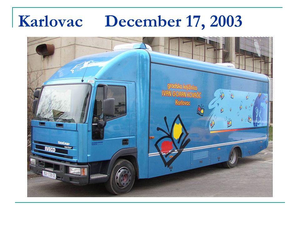 Karlovac December 17, 2003