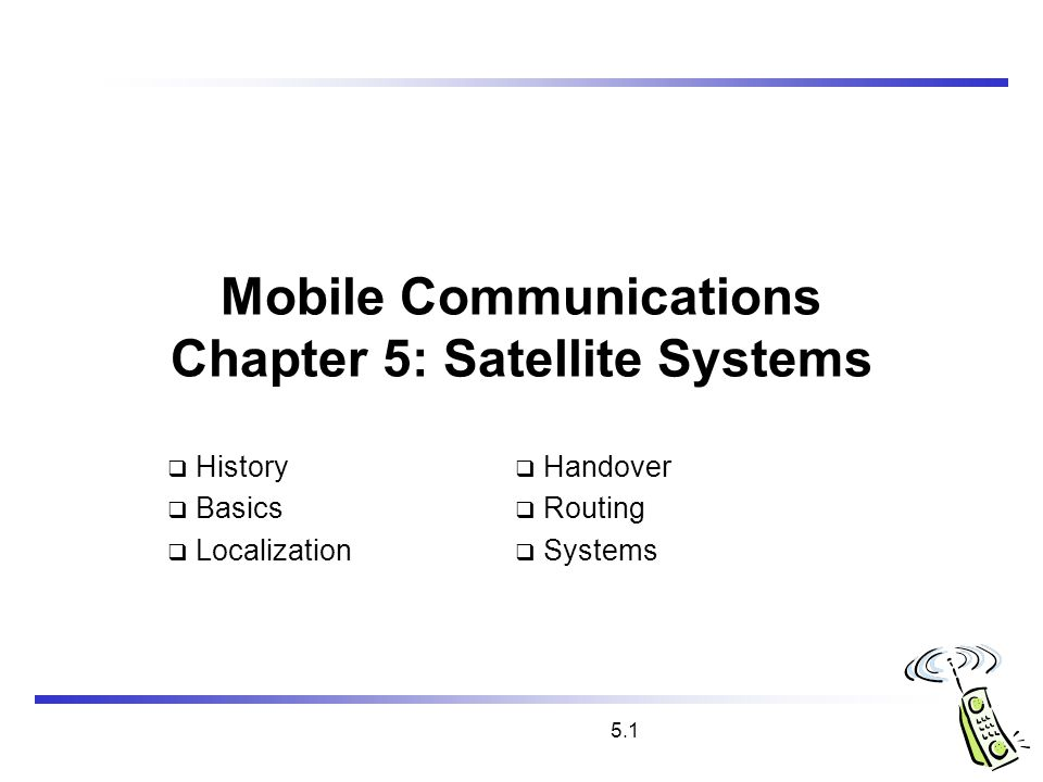 Papers on satellite communication: Free research papers-wireless ...