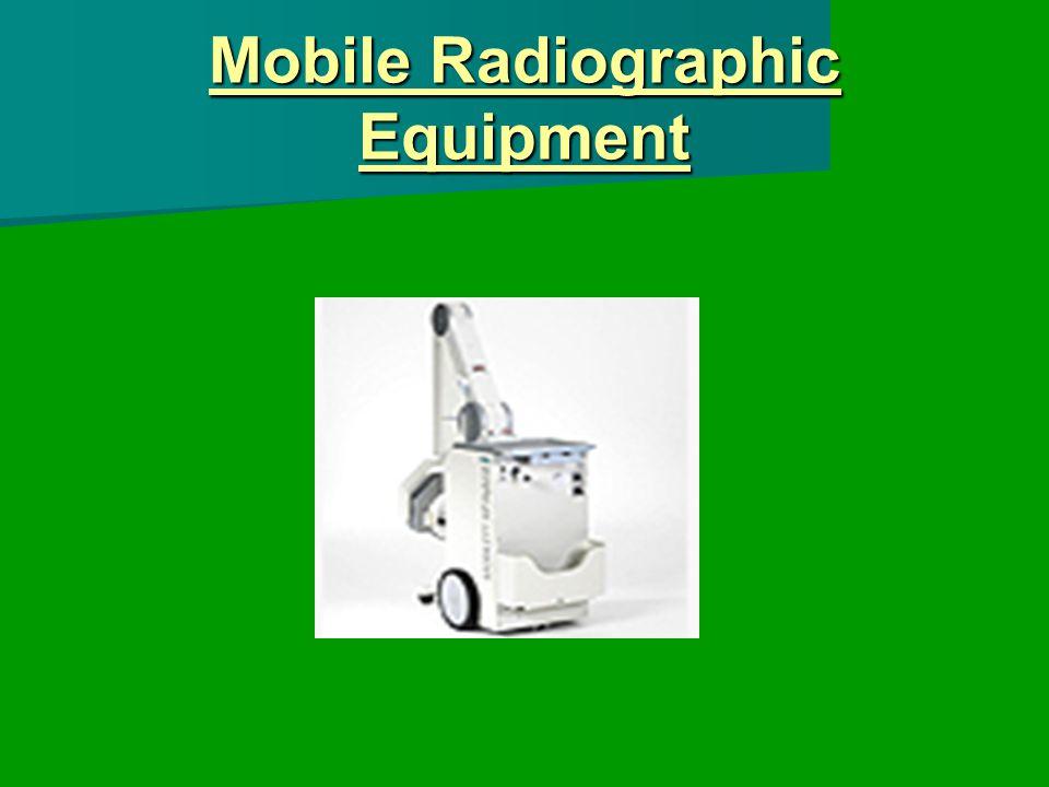 Mobile Radiographic Equipment