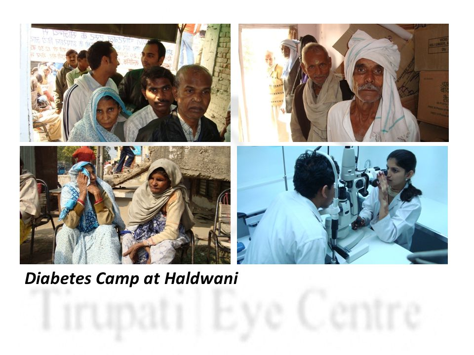 Diabetes Camp at Haldwani
