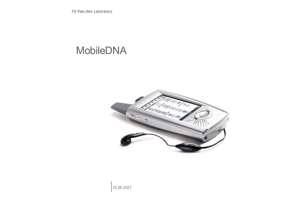 MobileDNA FX Palo Alto Laboratory 10.08.2001