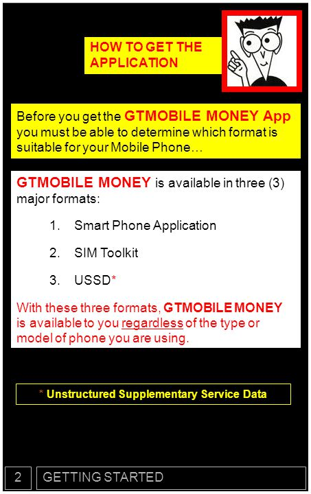 GETTING STARTED2 FORMAT #1 The SMARTPHONE Application is available for DOWNLOAD on Android, Blackberry, iPhone and Java enabled Phones.