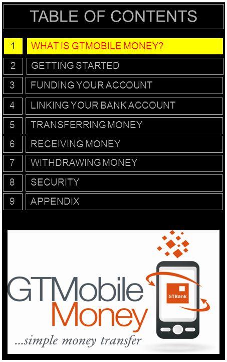 WHAT IS GTMOBILE MONEY.