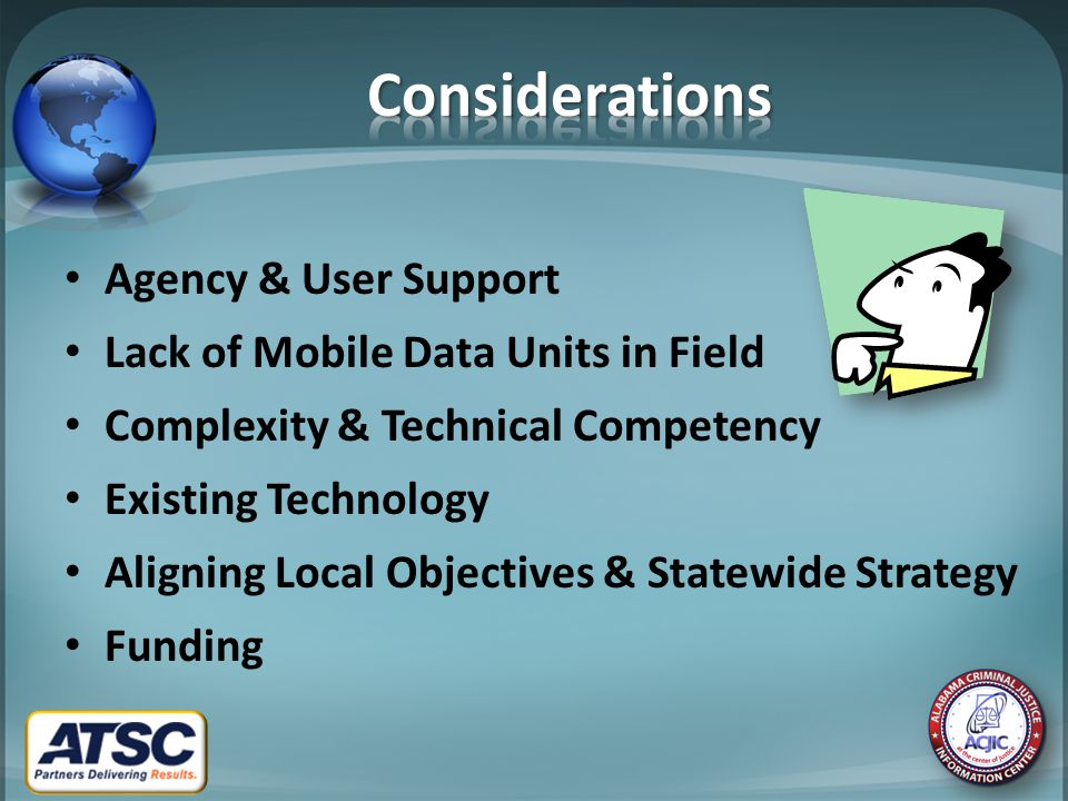 System is very end-user focused Open standards approach works – Architecturally for state system – Programmatically for end agency adoption State sponsorship drives take-up Involve end users in product roadmap Lower O&M cost supports long term viability