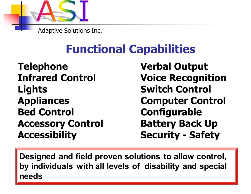 Adaptive Solutions Inc. * Quartet Technology Inc.