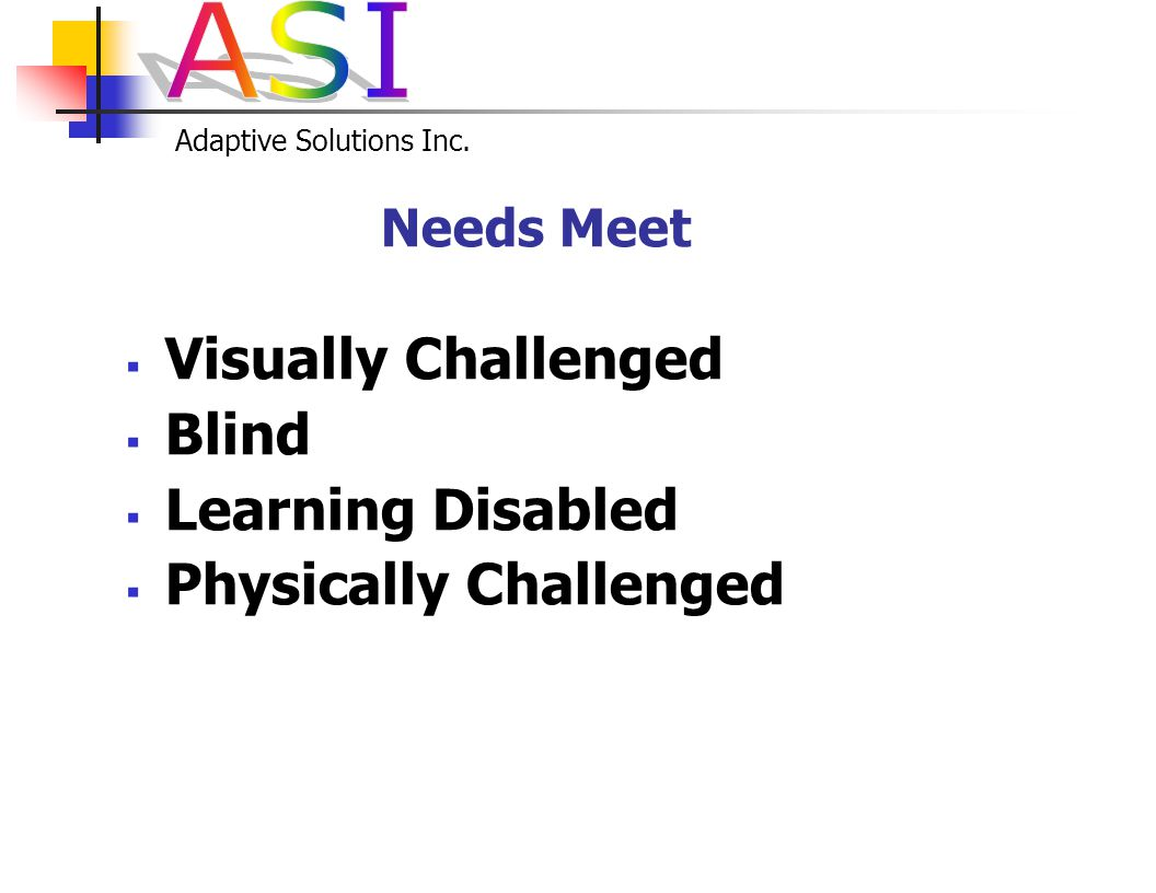 Adaptive Solutions Inc.