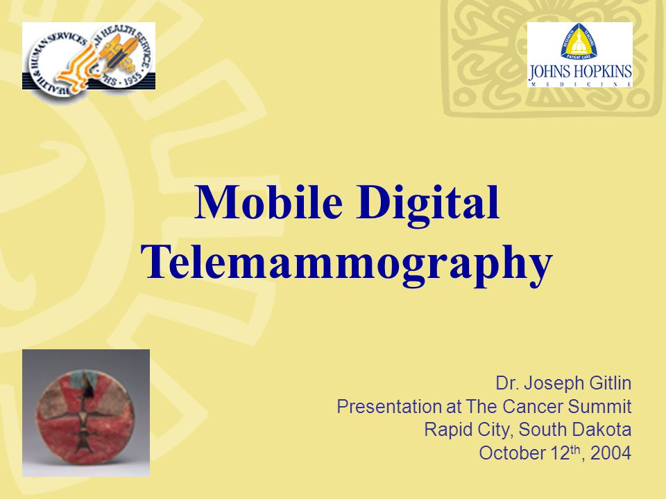 Mobile Digital Telemammography Dr.