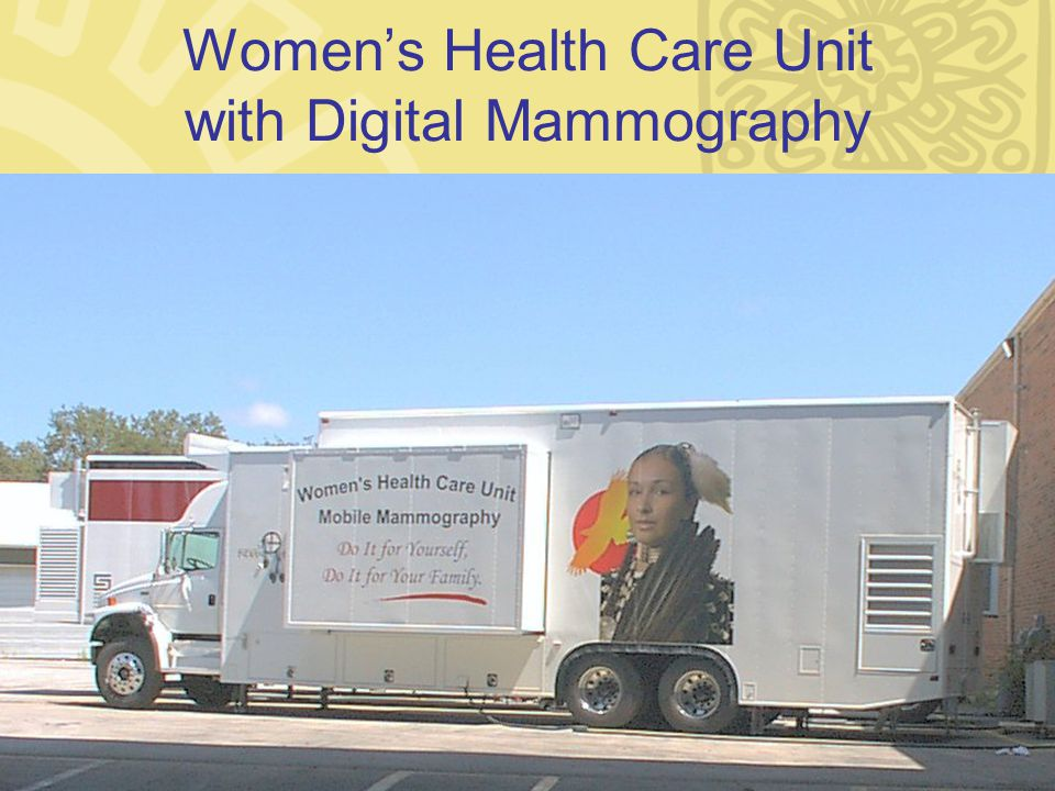 Womens Health Care Unit with Digital Mammography