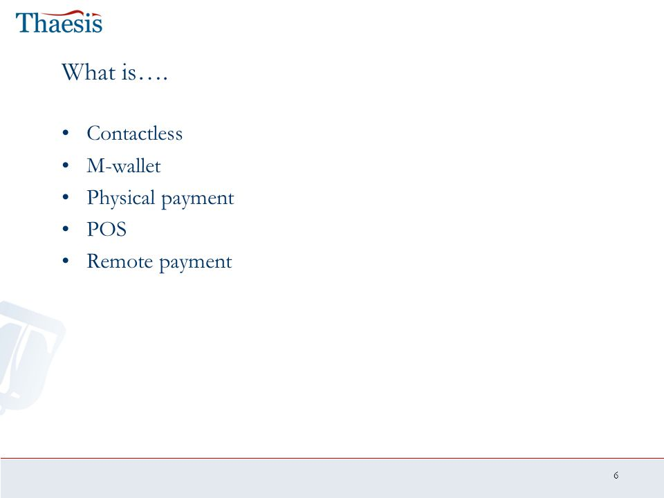 7 Agenda 1.Introduction 2.Mobile payments 1.0: 2000-2005 3.Mobile payments 2.0: 2006-2010 4.Conclusion and summary