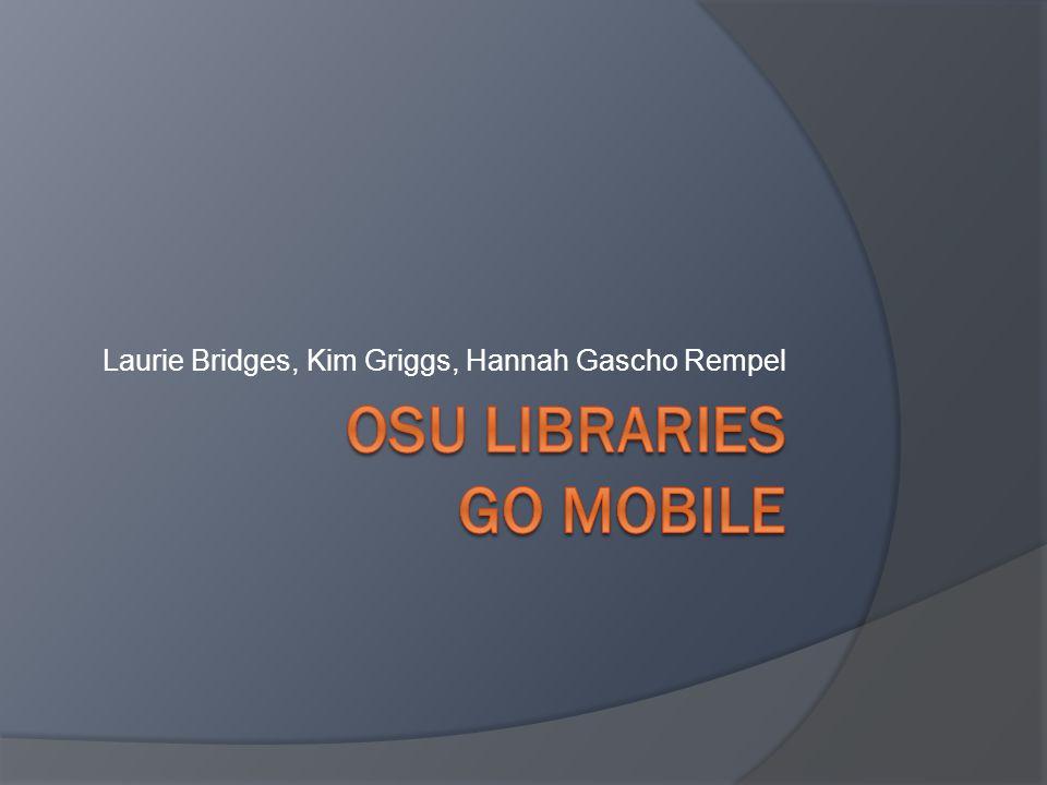 Laurie Bridges, Kim Griggs, Hannah Gascho Rempel