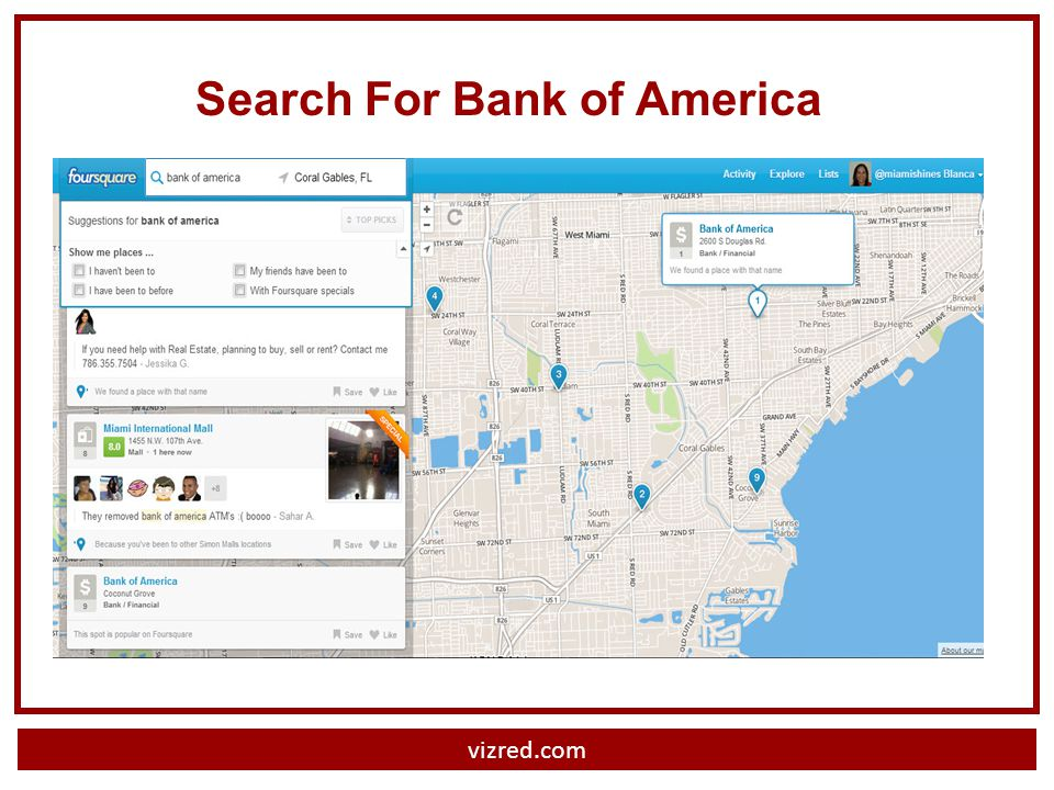 Search For Bank of America