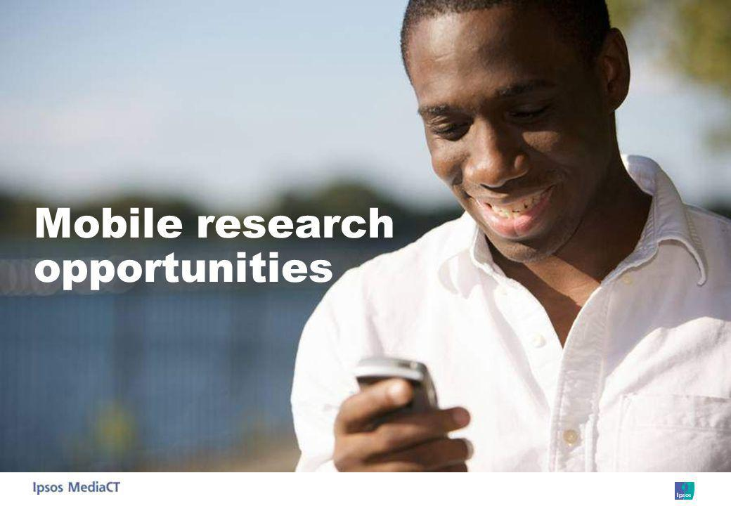 Mobile research opportunities