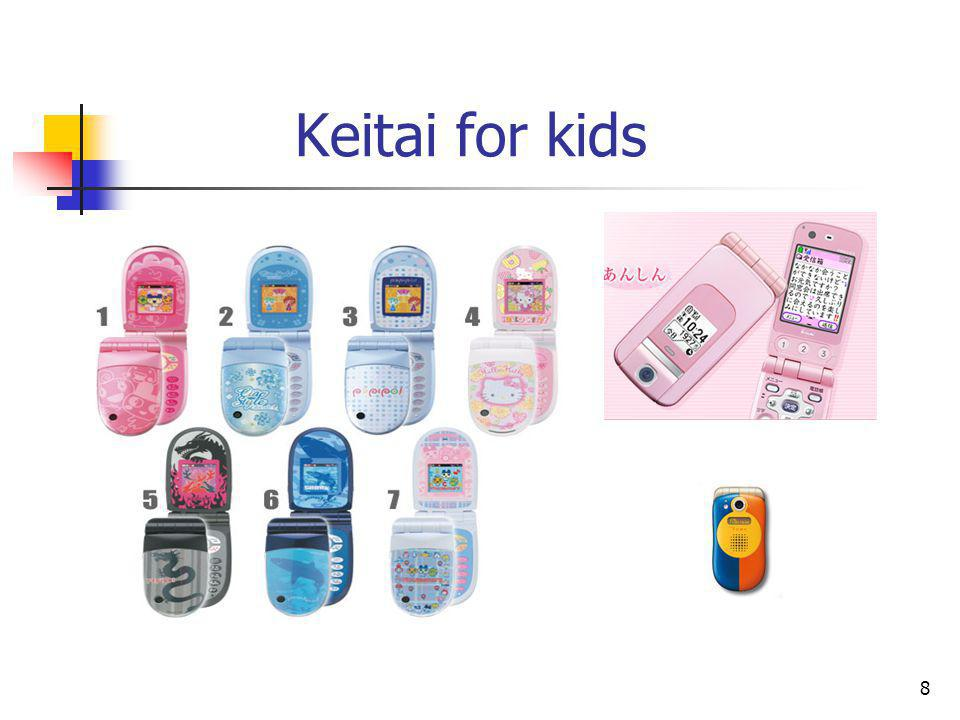 8 Keitai for kids