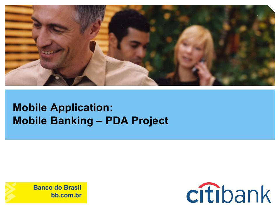 Mobile Application: Mobile Banking – PDA Project