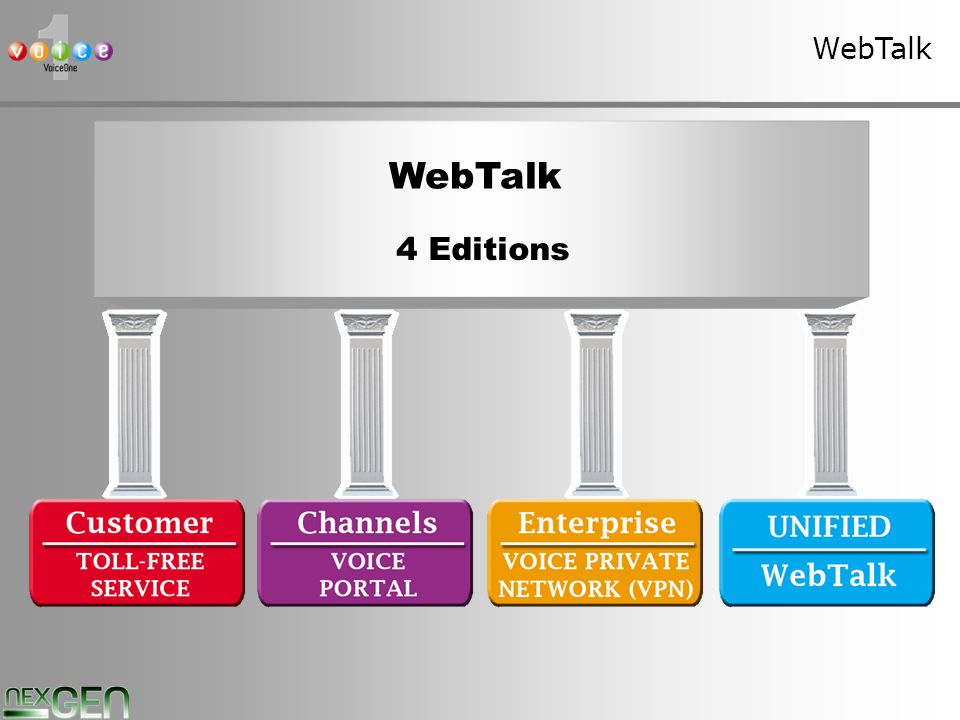 17 WebTalk 4 Editions
