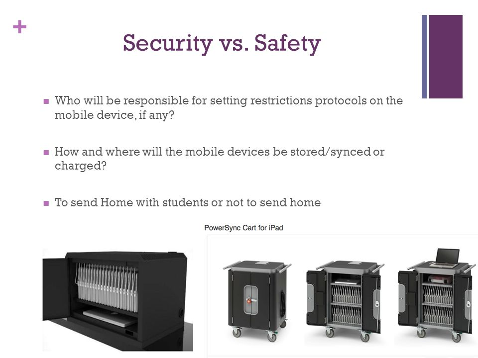 + Security vs.