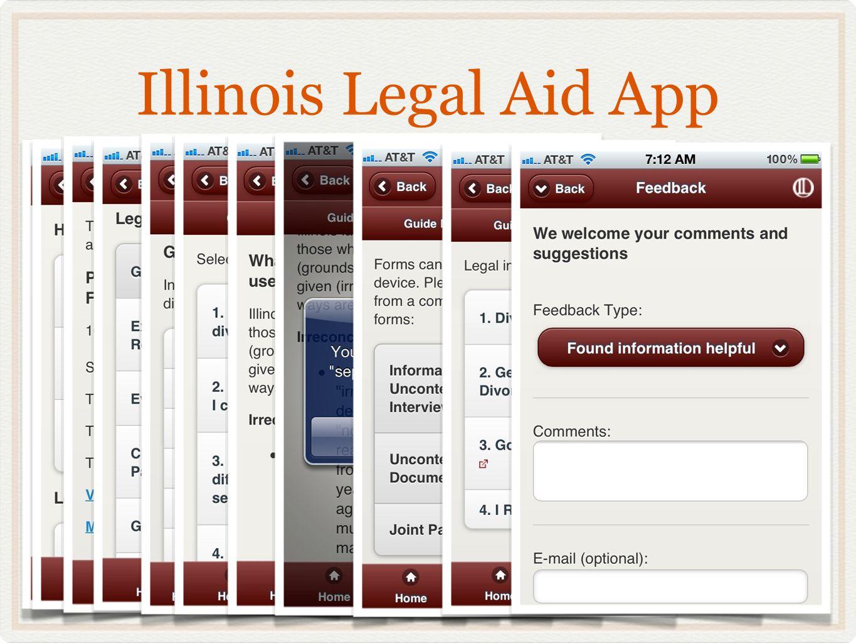 Illinois Legal Aid App 60505