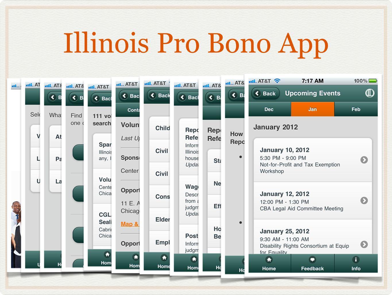 Illinois Pro Bono App