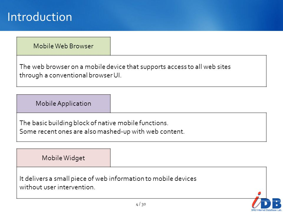 Mobile Widget UI SmartActions: Context-Aware Mobile Phone Shortcuts Screenshots of the application 25 / 30