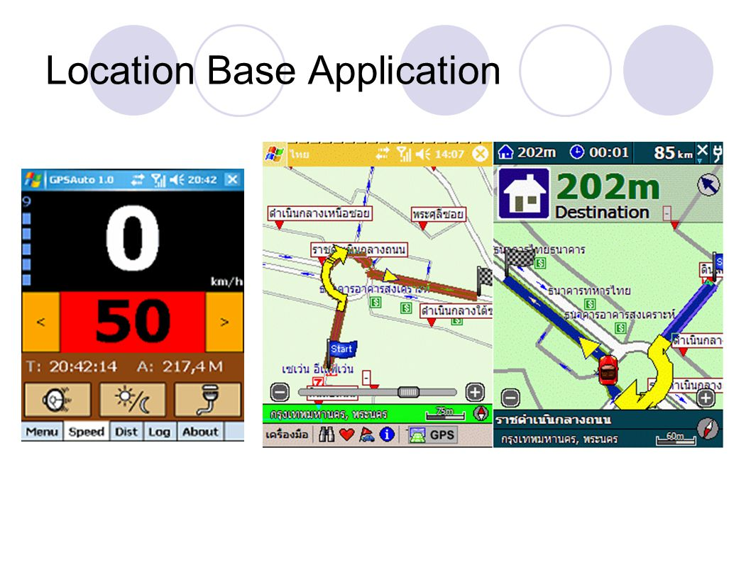 Location Base Application