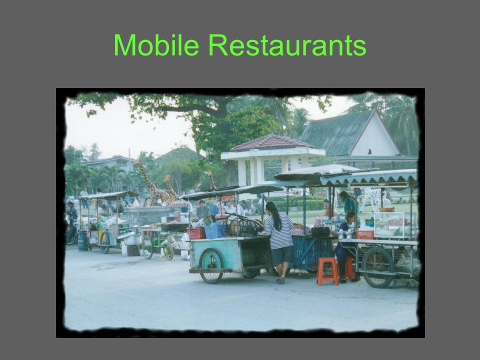 Mobile Restaurants