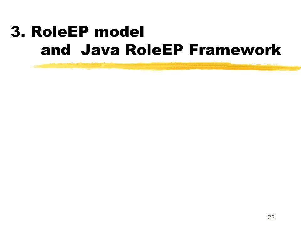 22 3. RoleEP model and Java RoleEP Framework