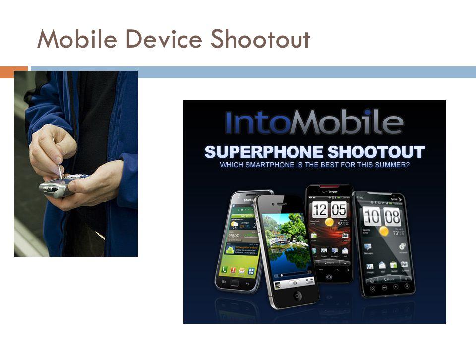 Mobile Device Shootout