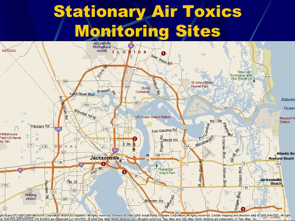 Stationary Air Toxics Monitoring Sites