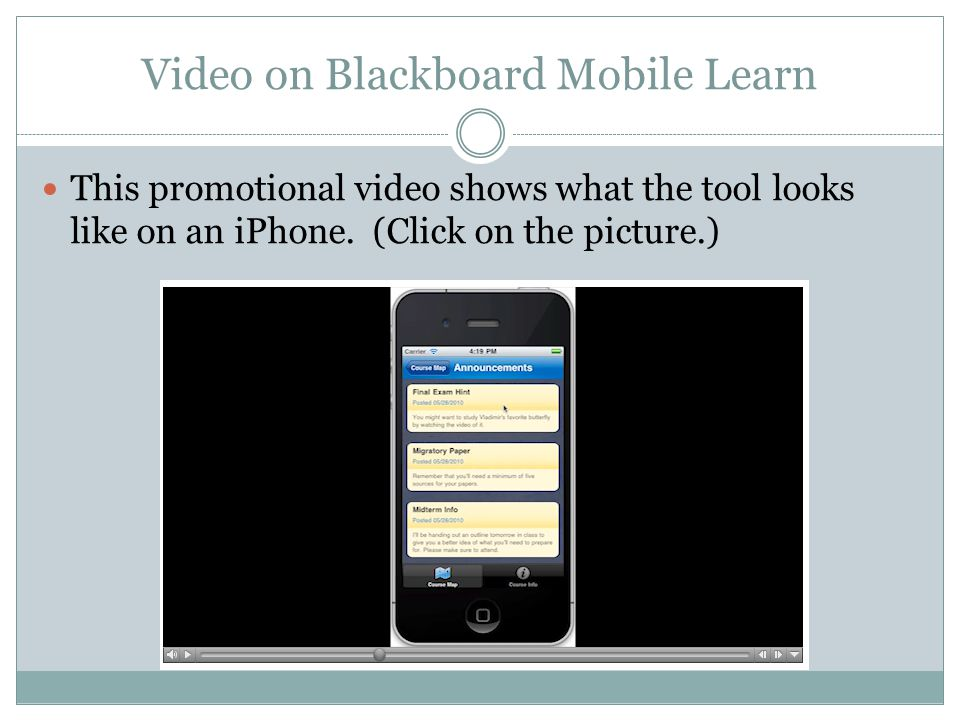 Looking ahead Teachers should review the content they will be releasing during the school year to make sure it is mobile friendly.