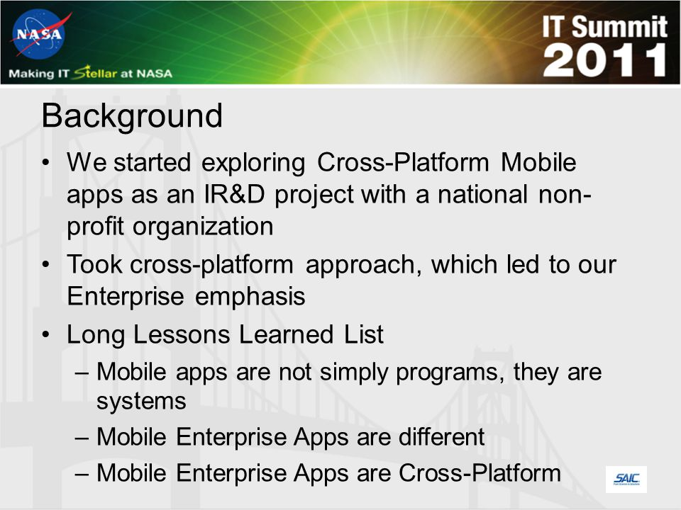 Mobile Enterprise Apps...