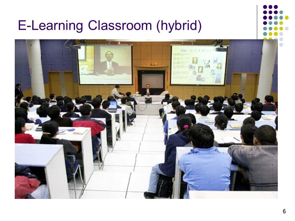 6 E-Learning Classroom (hybrid)
