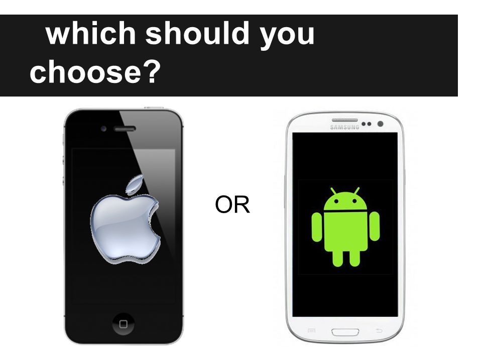 which should you choose OR