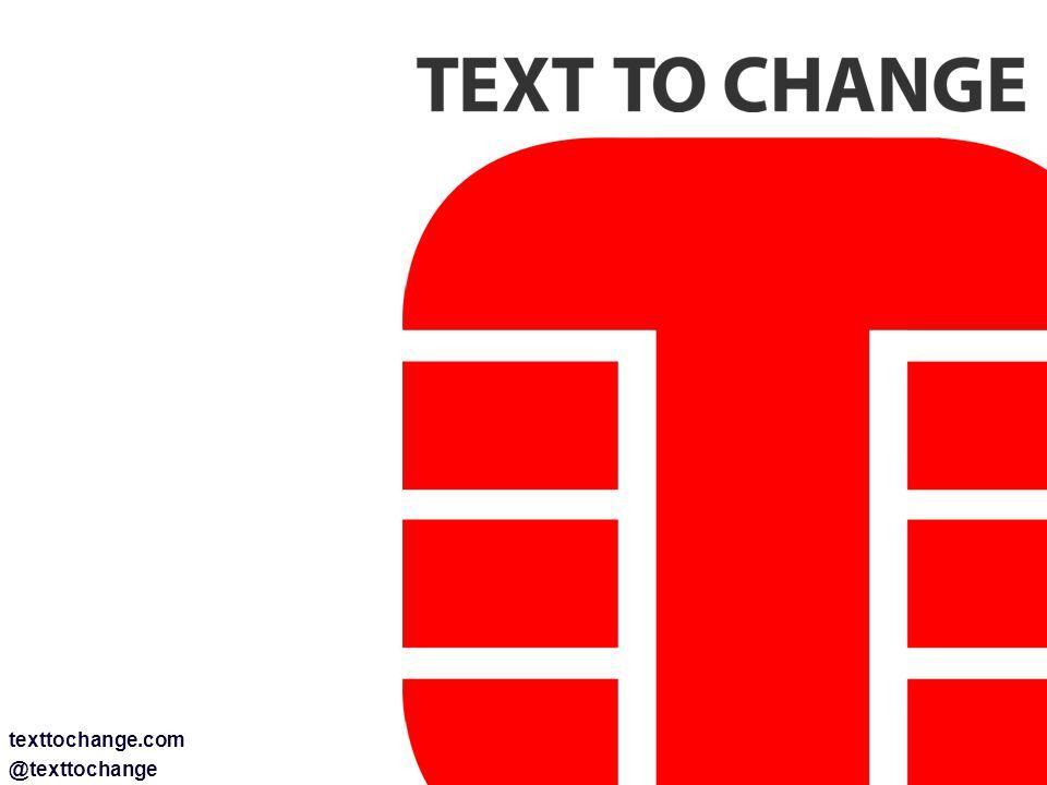 texttochange.com @texttochange