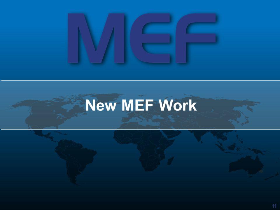 11 New MEF Work