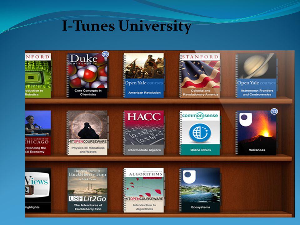 I-Tunes University