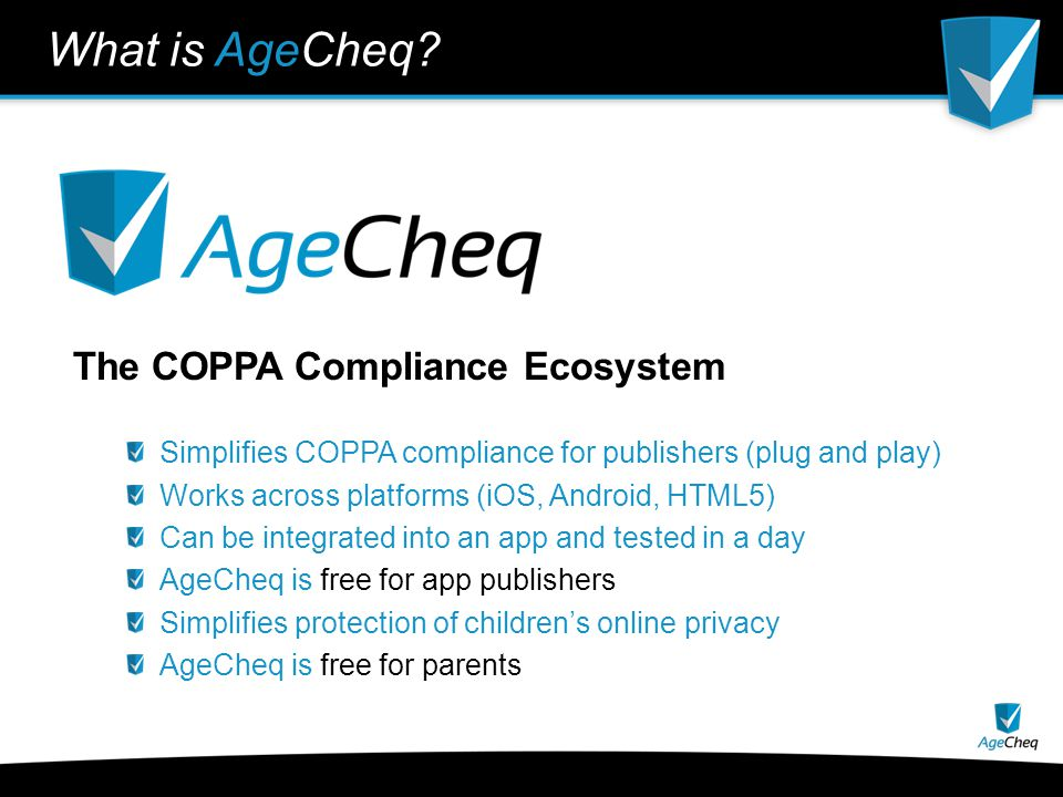 What does AgeCheq Do for Publishers.