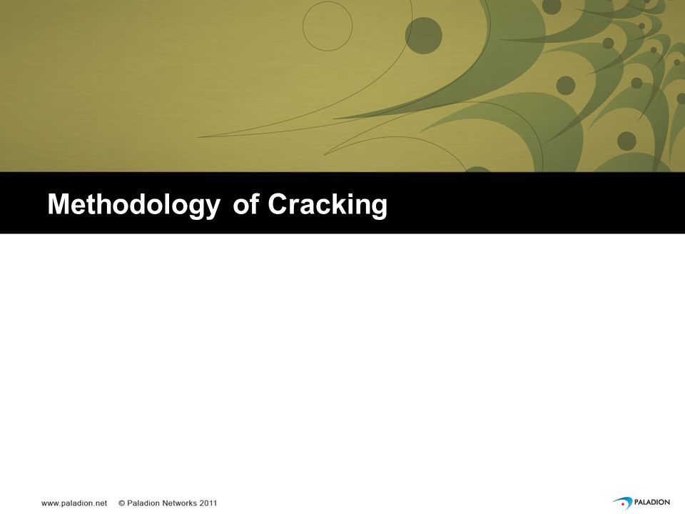 Methodology of Cracking