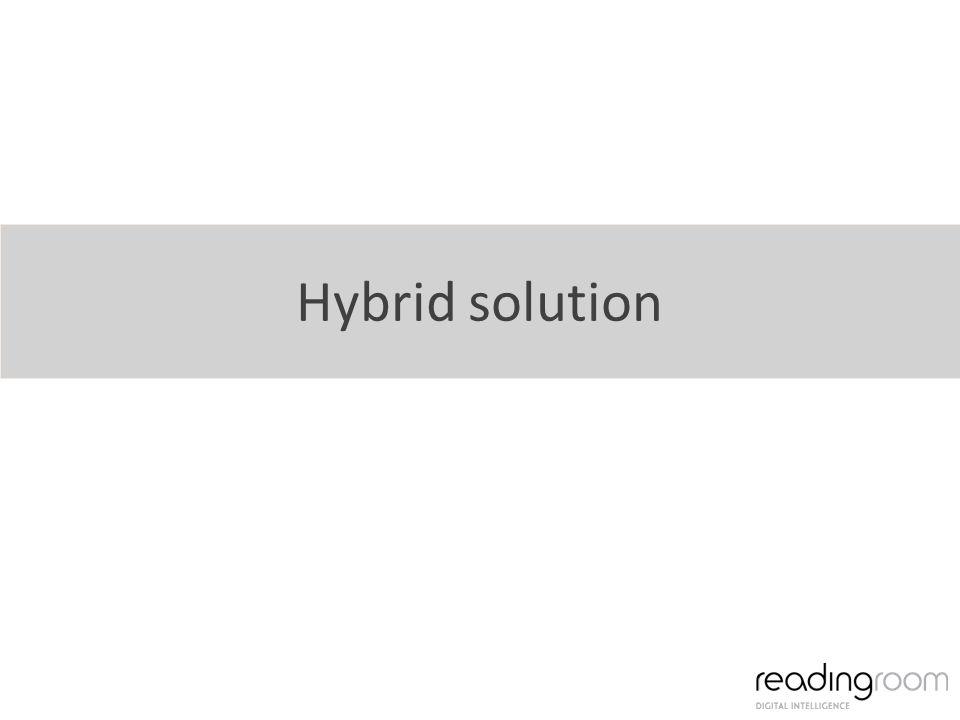 Hybrid solution