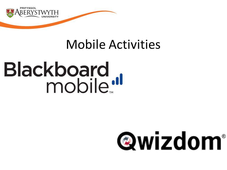 Mobile Activities